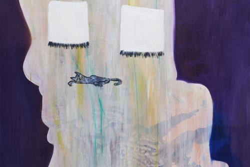 O.T. (Oma am Schaukelstuhl I), 2013, 270 x 190 cm
