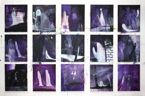 Ghosts (violett)