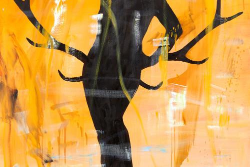 Praelude (orange), 2013, 100x80cm