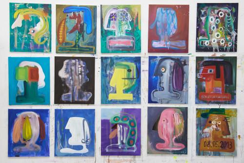 Buesten, 2013, each 60x50cm