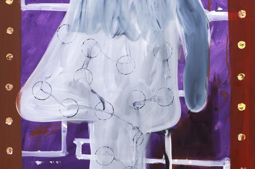 Nasenkopfbueste, 2013, 100x80cm
