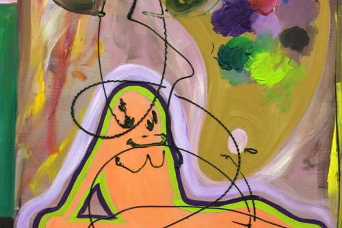 Couchgirl, 2012, 66 x 47 cm