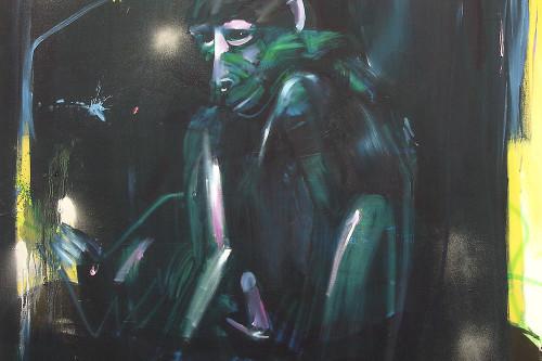Affe, 2004, 190 x 150 cm