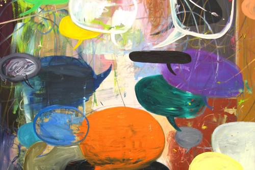 Blababels, 2011, 200 x 180 cm