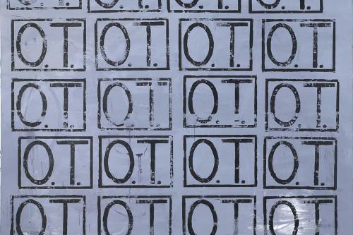 O.T. (großer Linolschnitt), 2011, 180x200cm