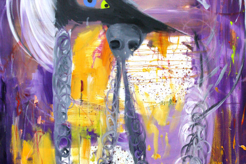 Bastards (Dreiauge, violett)