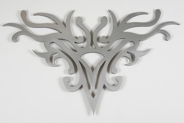 Enschy II, Silberrelief 2013, 100x140x2cm