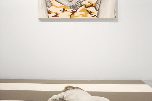 Zebra, 2005, 80 x 20 x 10 cm