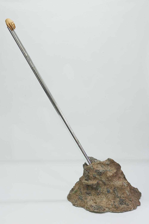 Fingerlinski, 2013, h: 200 cm