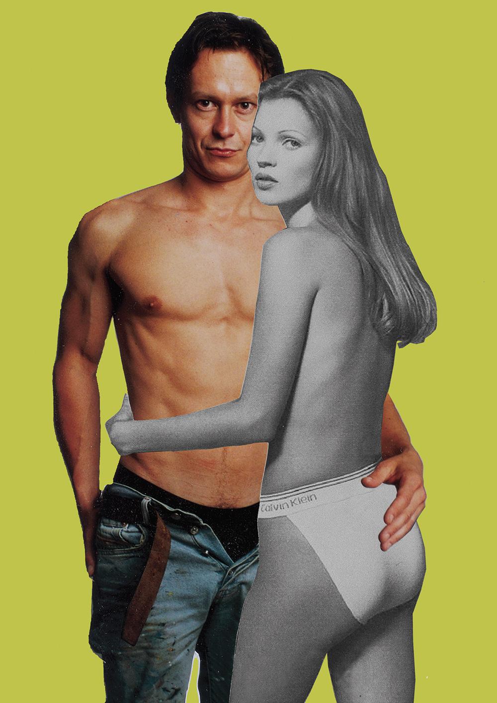Kate Moss Maler und Modell 1