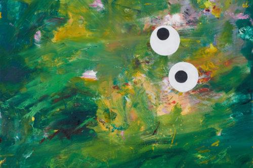 O.T. (Augen, grün)